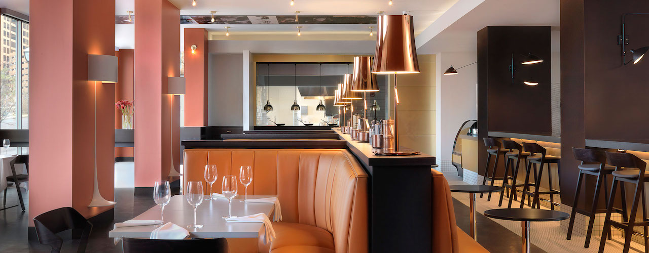 An Italian Restaurant with French Sensibility